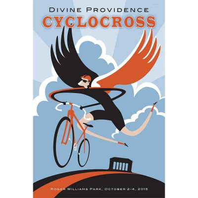 Divine Providence Cyclocross Art Print
