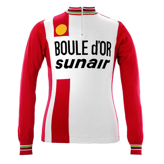 Freddy Maertens 1981 Boule d'Or Long Sleeve Vintage Jersey - MOLTENI CYCLING