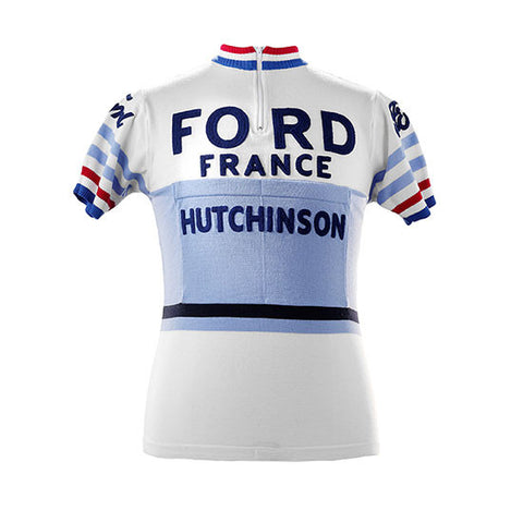 Jacques Anquetil 1965 Ford France Vintage Jersey - MOLTENI CYCLING
