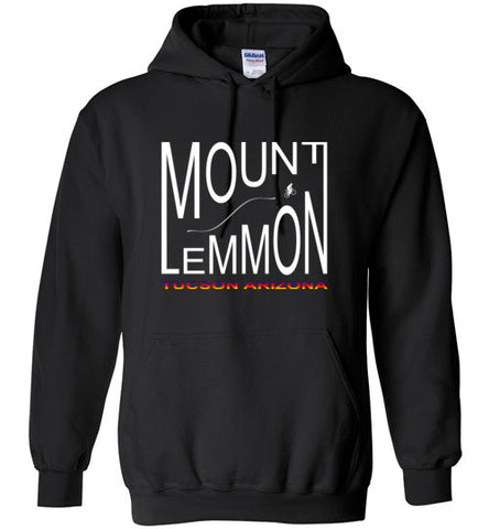 Mount Lemmon by Bike Hoodie