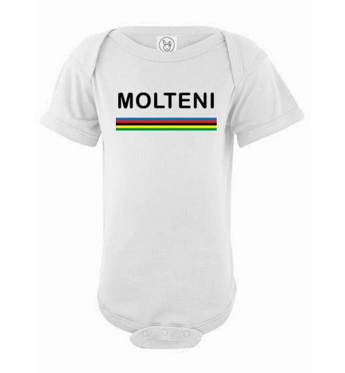 BABY MOLTENI WORLD CHAMP ONESIE - MOLTENI CYCLING