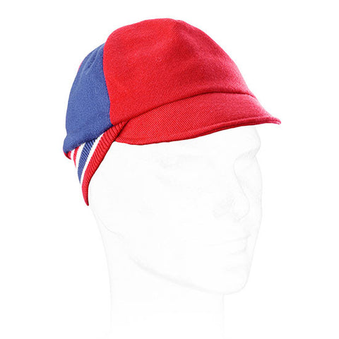 Great Britain Vintage Cycling Cap 100% Super fine Merino wool