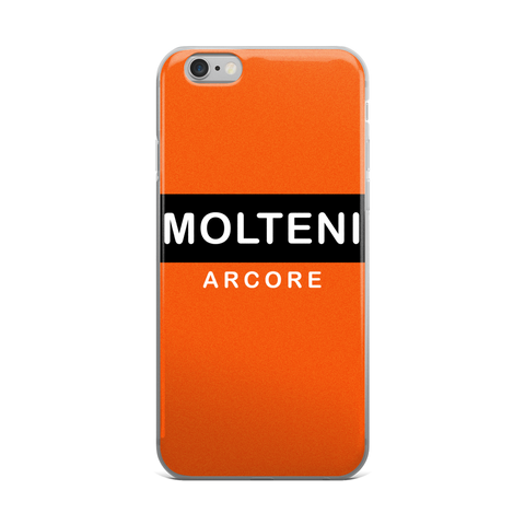 Molteni Arcore Orange iPhone Case