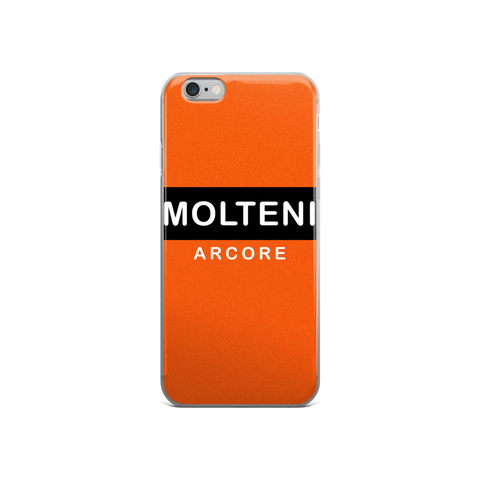Molteni Arcore Orange iPhone Phone Cases