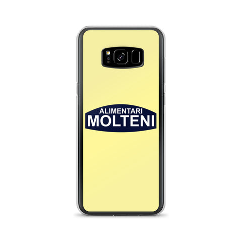 Yellow Molteni Alimentari iPhone and Samsung Phone Cases - MOLTENI CYCLING