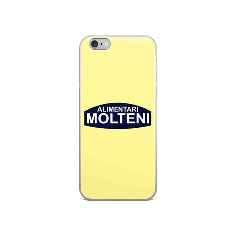 Yellow Molteni Alimentari iPhone and Samsung Phone Cases