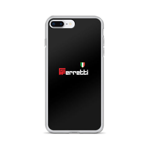 Ferretti Black iPhone and Samsung Phone Cases - MOLTENI CYCLING