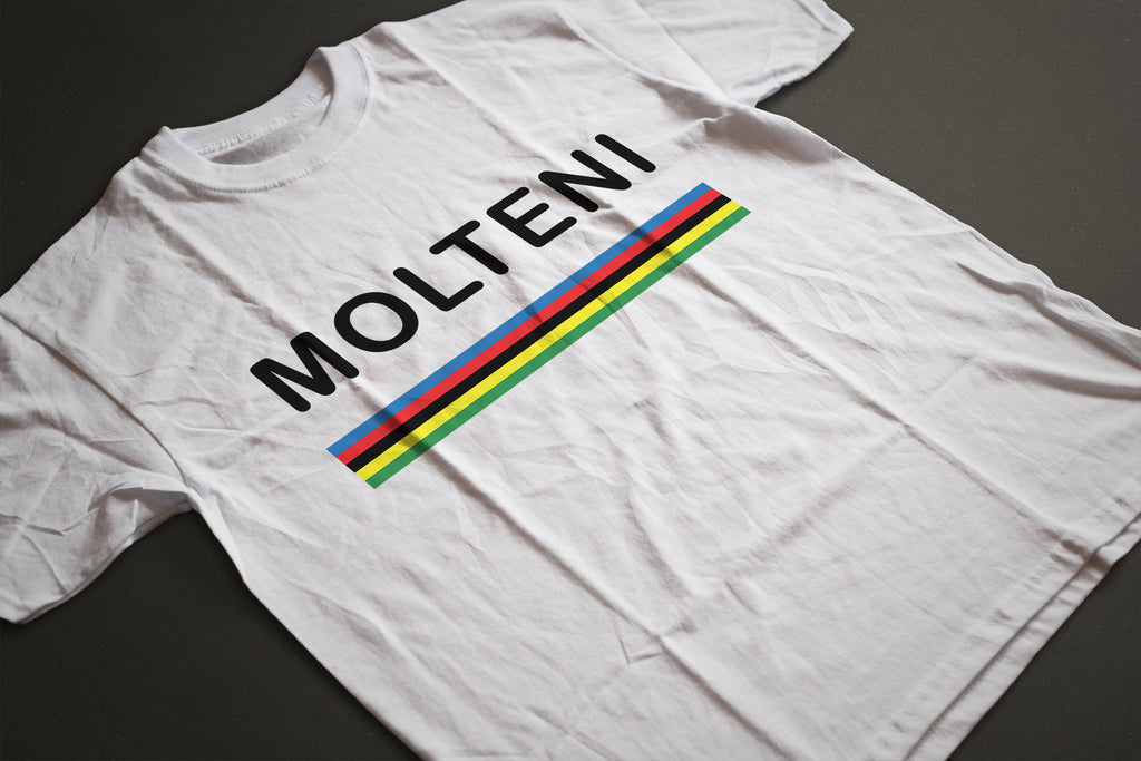 MOLTENI WORLD CHAMPION CLASSIC T-SHIRT - MOLTENI CYCLING