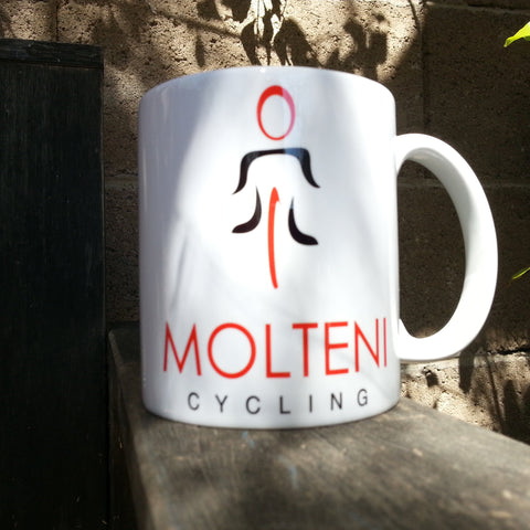 The Right Check List Coffee Cycling Mug! - MOLTENI CYCLING