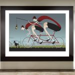 Road to Paris Art Print - MOLTENI CYCLING