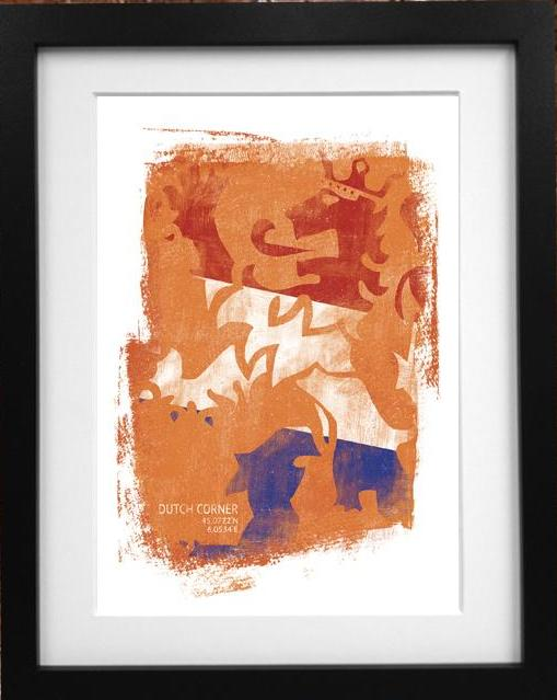 Dutch Corner Print - MOLTENI CYCLING