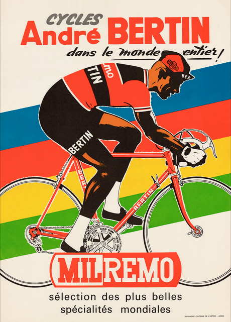 Cycles Andre Bertin Poster - MOLTENI CYCLING