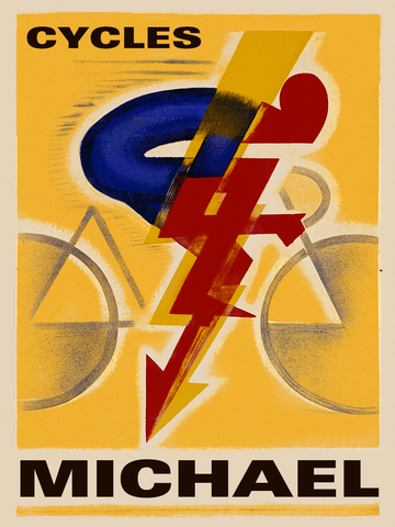 Cycles Dilecta Poster. - MOLTENI CYCLING