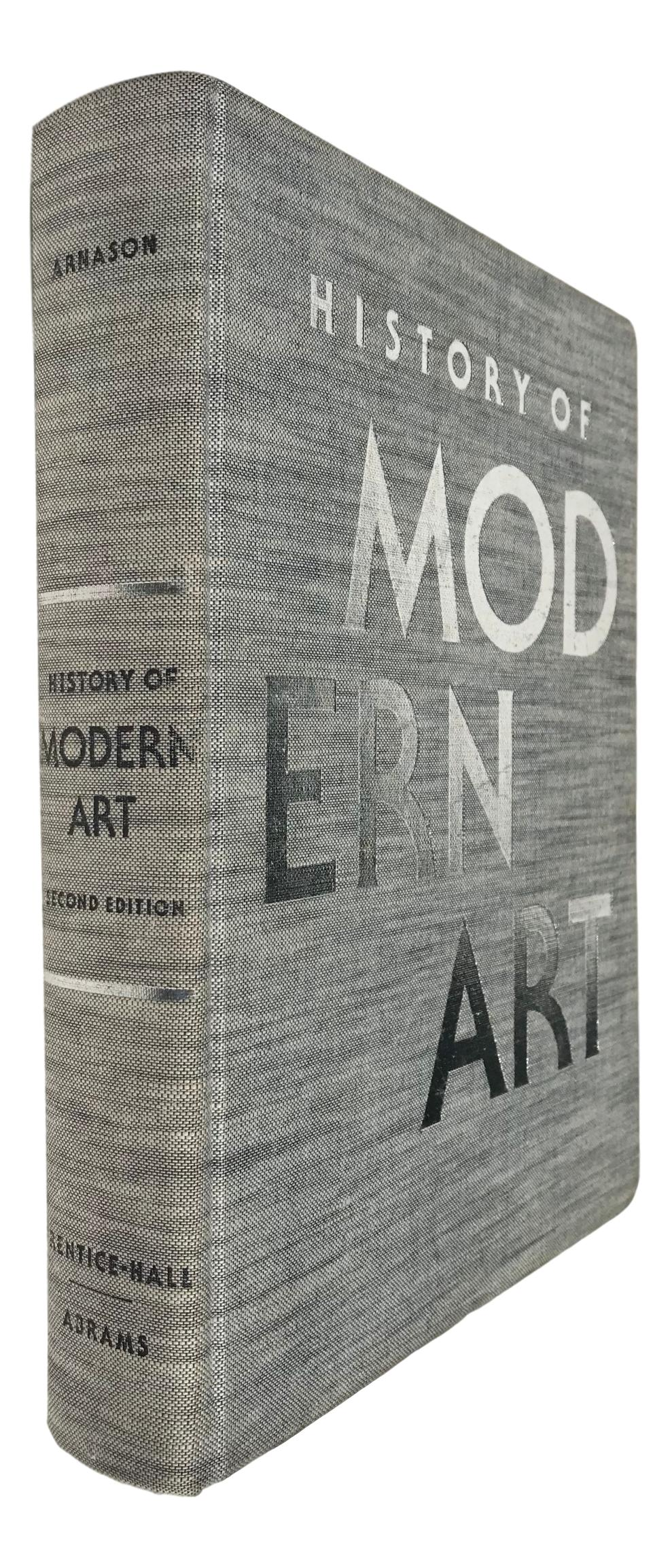 surprising Huge Coffee Table Books Part - 4: Vintage History of Modern Art Oversized Coffee Table Book