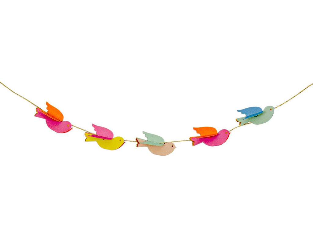 Pretty Birdies mini Garland