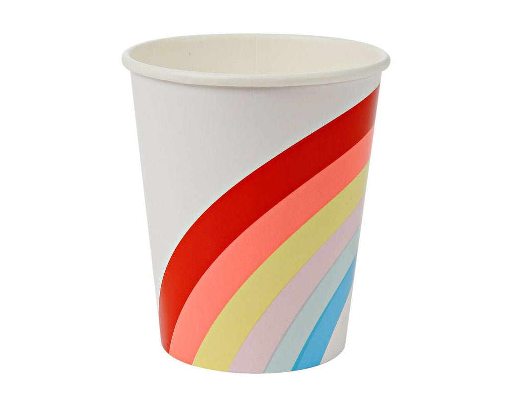 Rainbow party cup