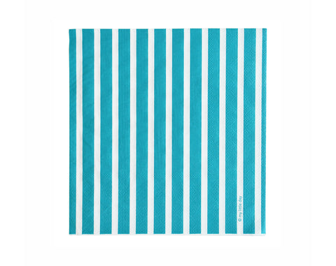 Blue stripe Paper napkins