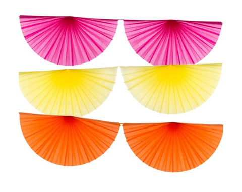 Large Fiesta fan garland