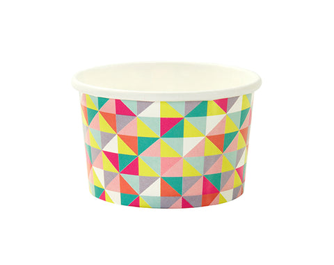Geometric treat tubs