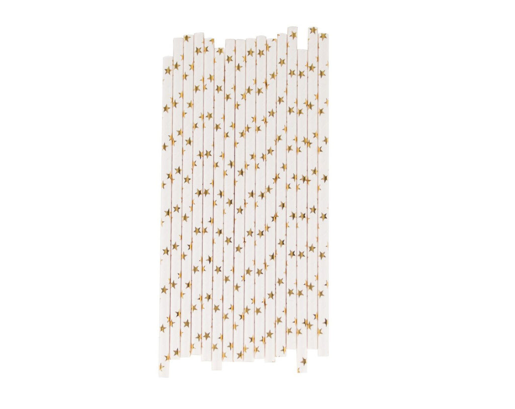 Gold Star Paper straws