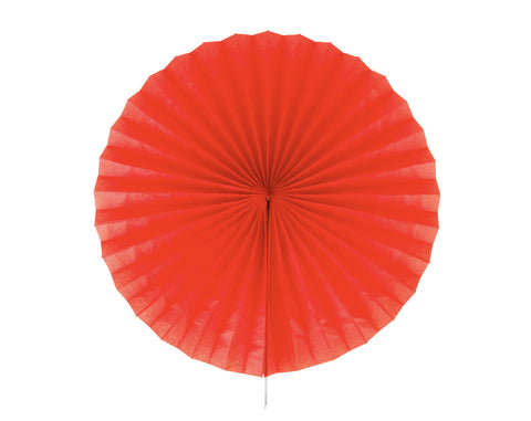 Tissue paper fan Red