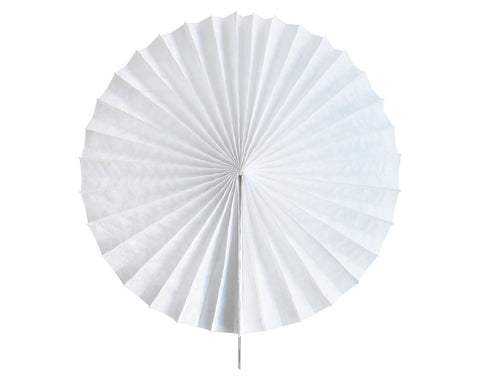 Tissue paper fan White