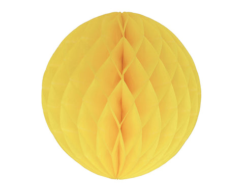 Honeycomb ball Yellow