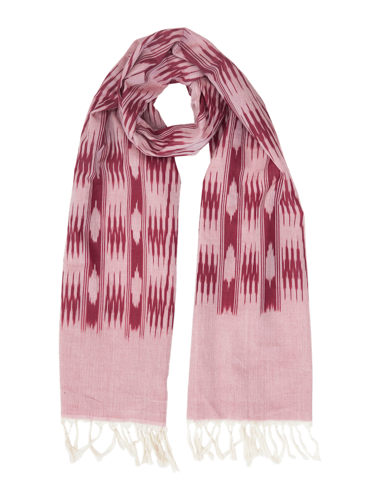Passion Lilie - Pink and Burgundy Scarf