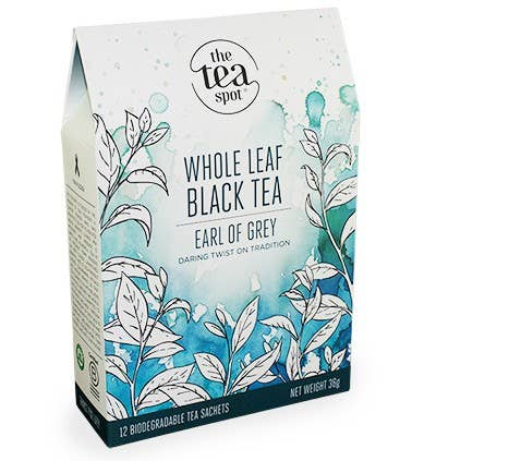 The Tea Spot - Earl of Grey Tea - Box of 12 Sachets