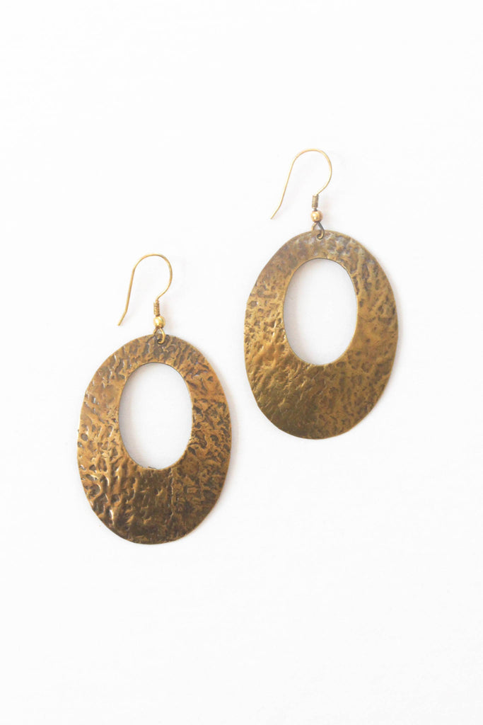 Rover & Kin - Antiqued Antoinette Earrings