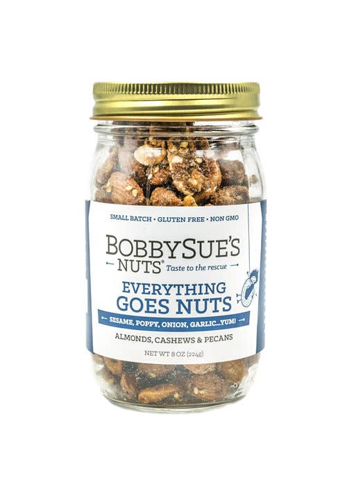 BobbySue's Nuts - Everything Goes Nuts Jar