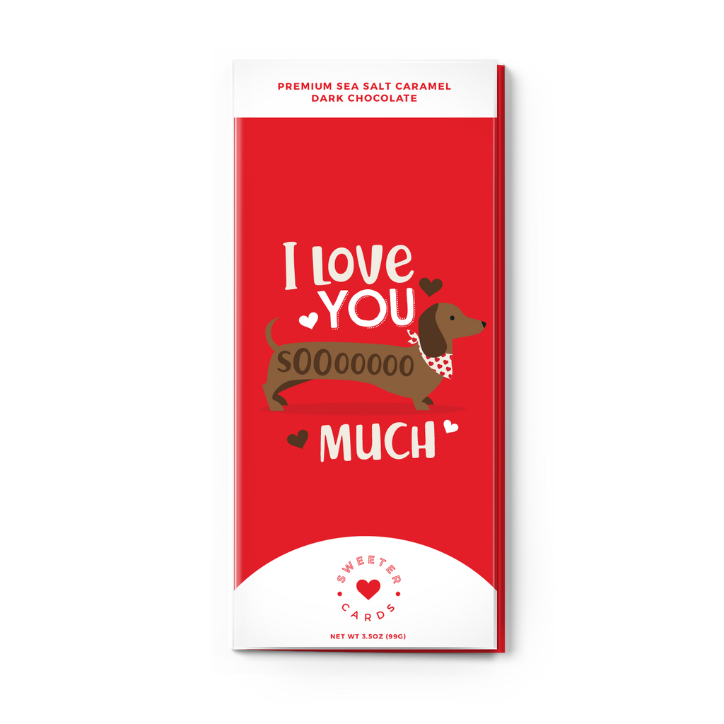 "Sweeter Cards - Valentine's Day Card ""I Love You SoOoO Much"""