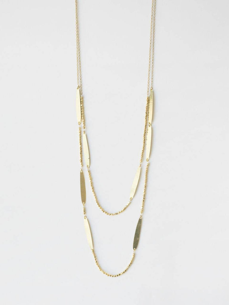 Mata Traders - Gold Amelie Necklace