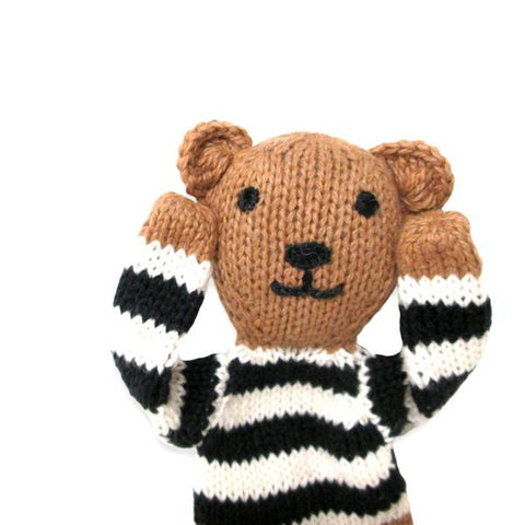 Estella - Organic Brown Bear Baby Toy