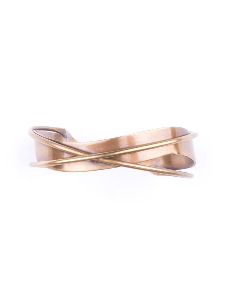 Mata Traders - Interwoven Gold Cuff