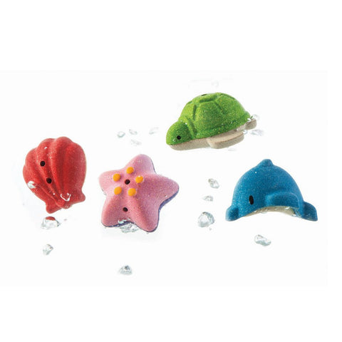 Sea Life Bath Set - Plan Toys