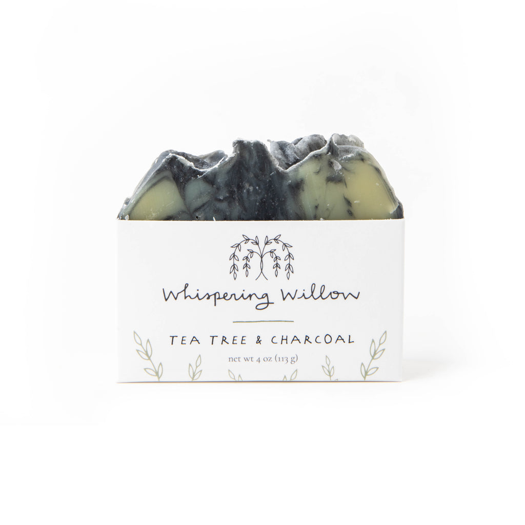 Whispering Willow - Bar Soap - Tea Tree w/ Charcoal