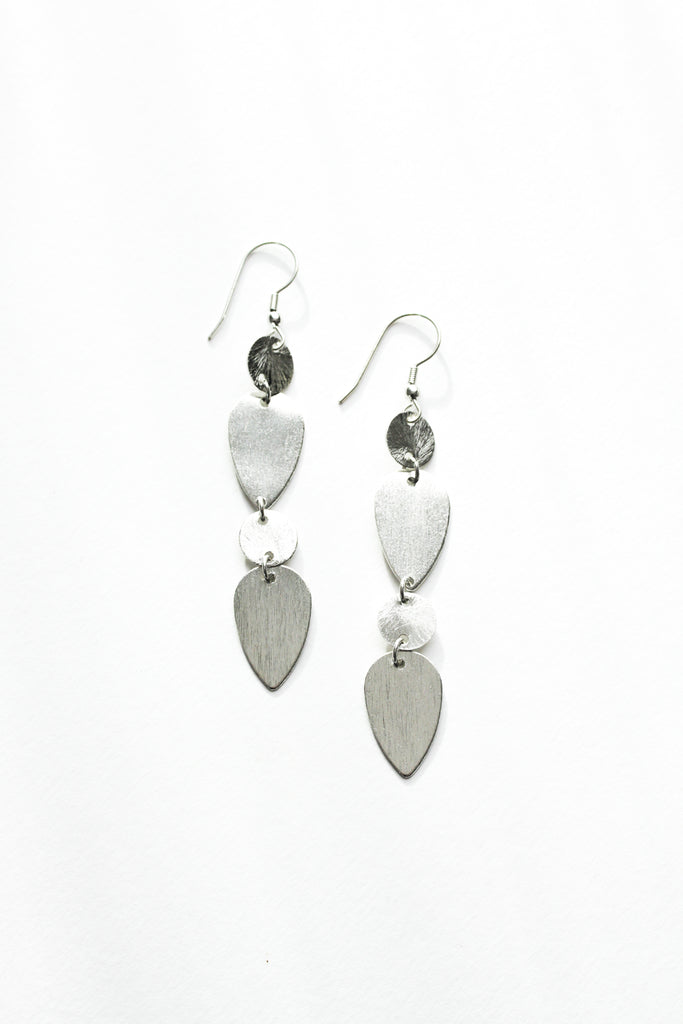 Rover & Kin - Brushed Silver Earrings