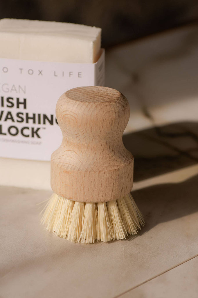 No Tox Life - Casa Agave™ Dishwashing and Vegetable Hand Brush