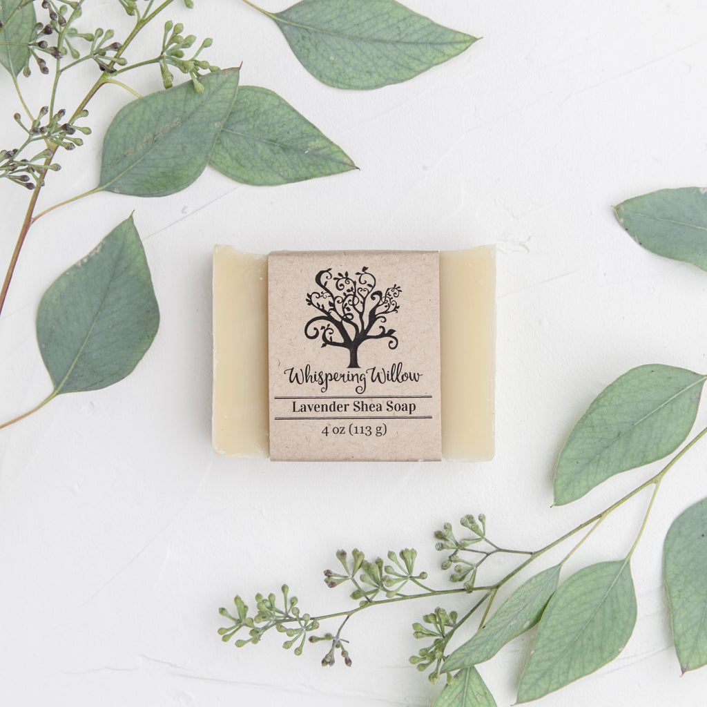 Whispering Willow - Lavender Shea Bar Soap