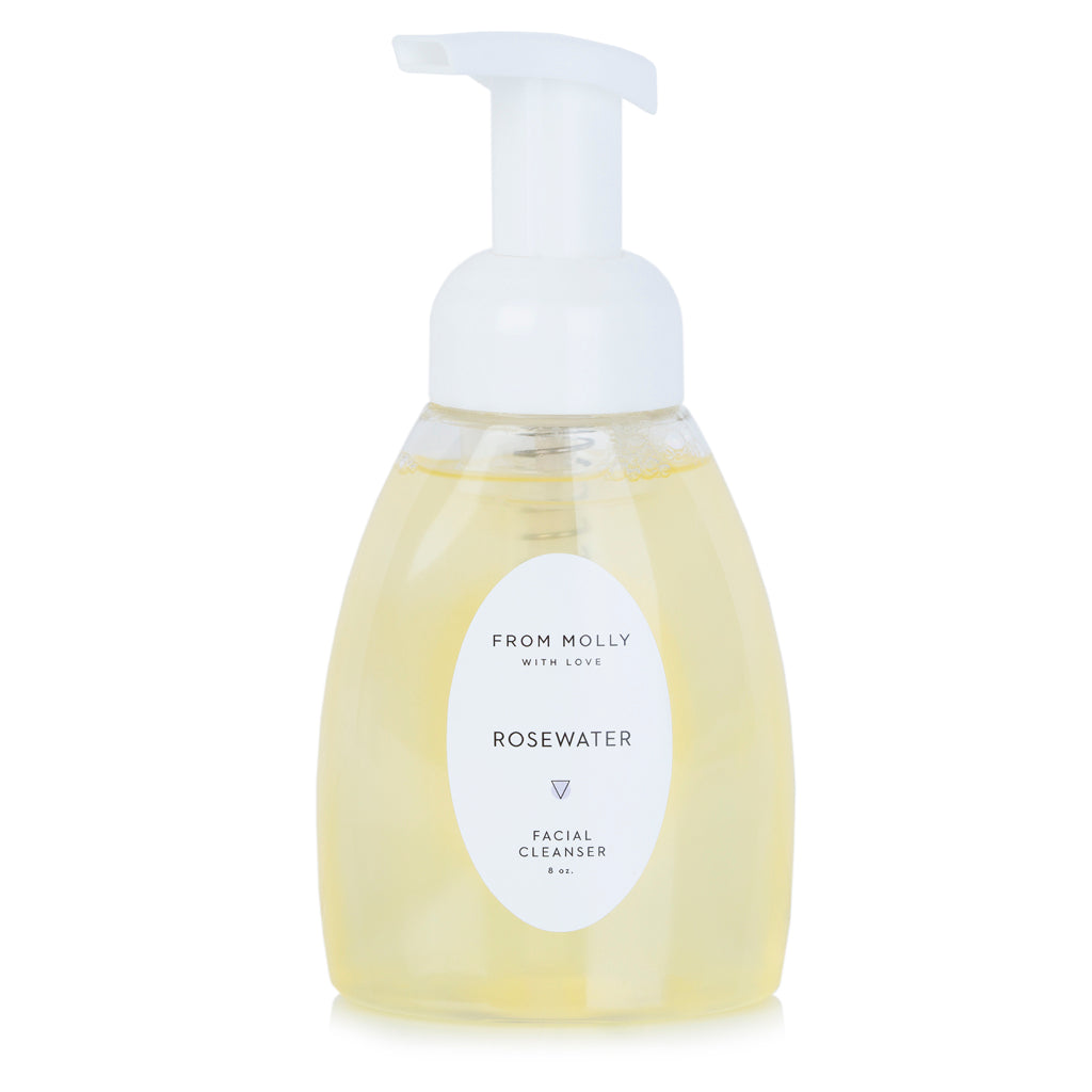 From Molly With Love - Rosewater Facial Cleanser 8 oz