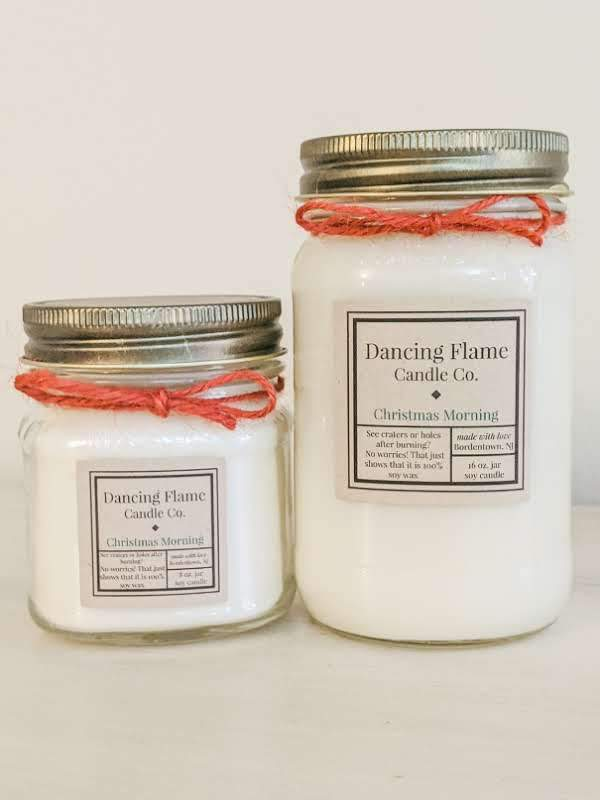 Dancing Flame Candle Co. - Christmas Morning