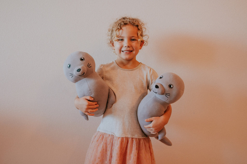 Makana the Hawaiian Monk Seal - Organic Stuffed Animal