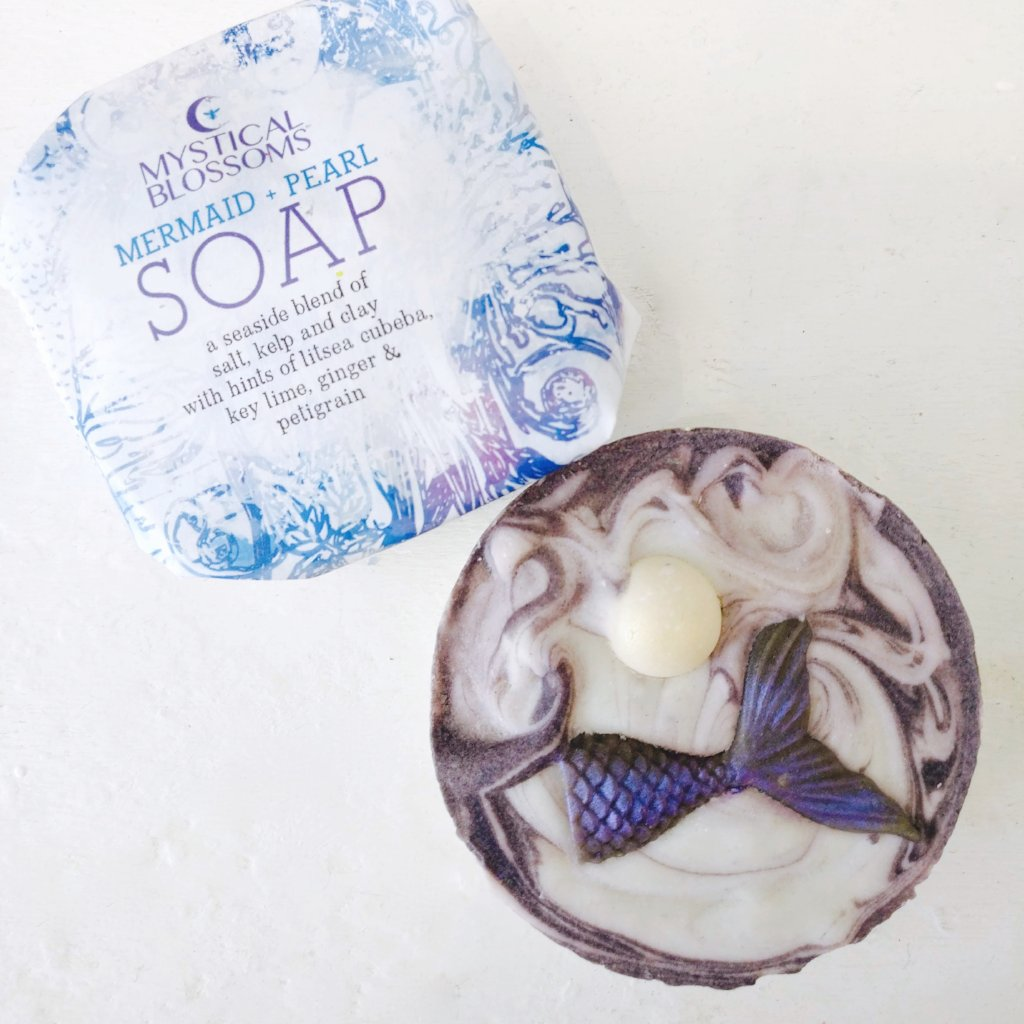 Mermaid + Pearl Soap