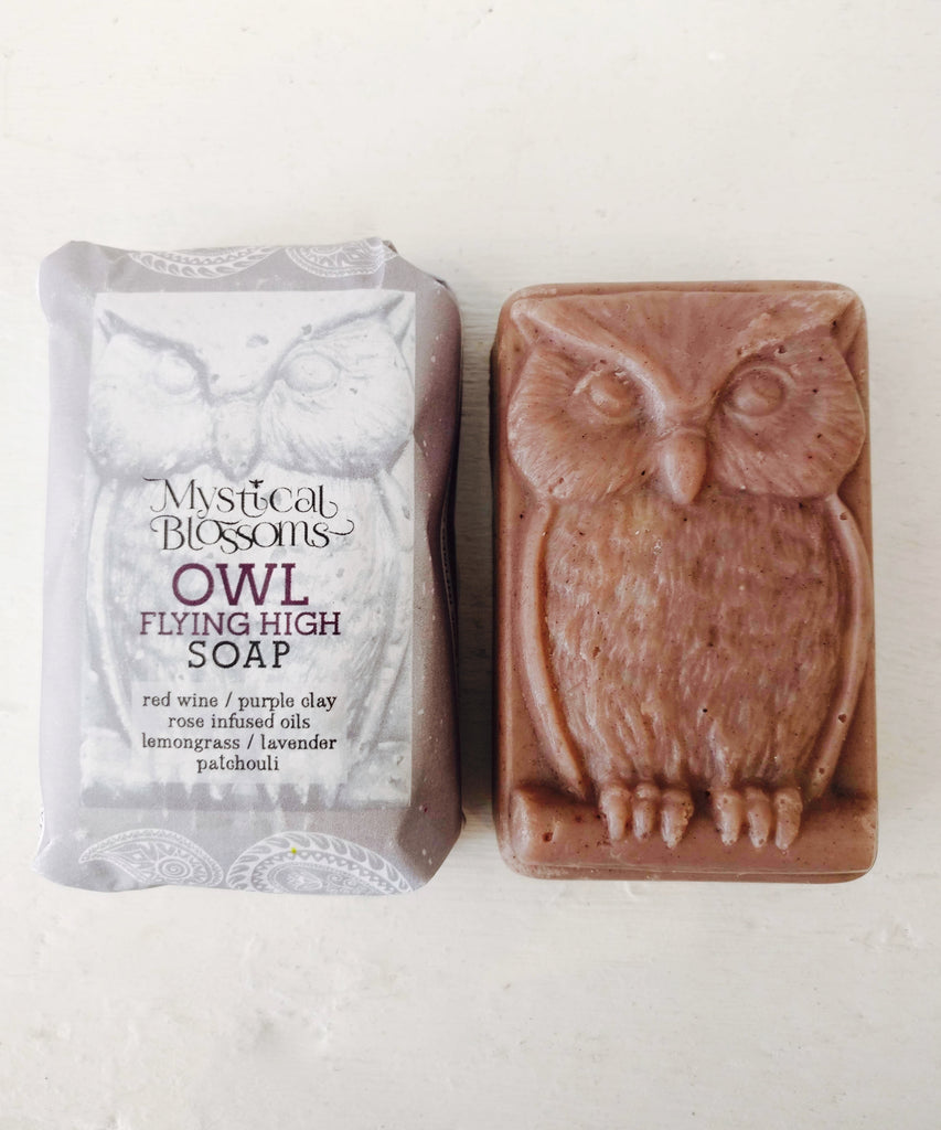 Flying High Owl Soap