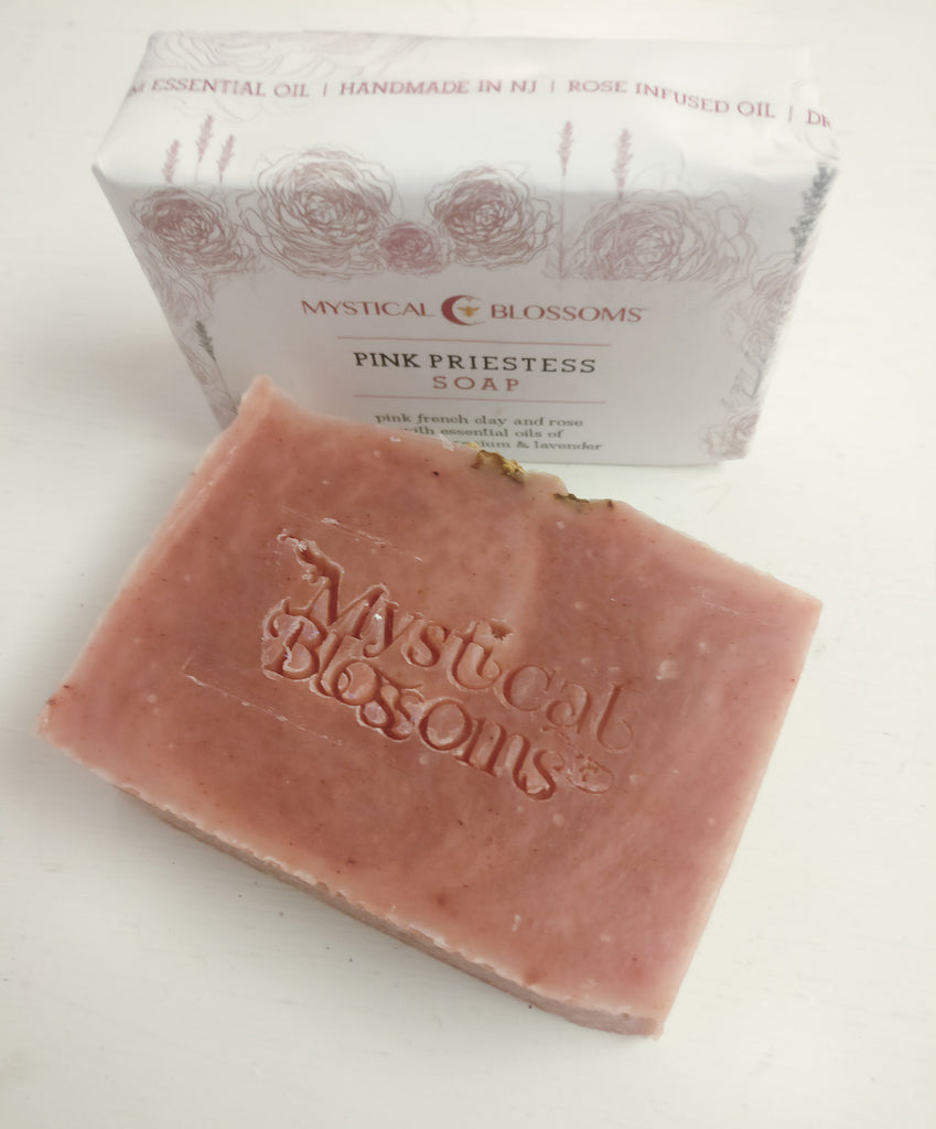 Pink Priestess Soap by Mystical Blossoms