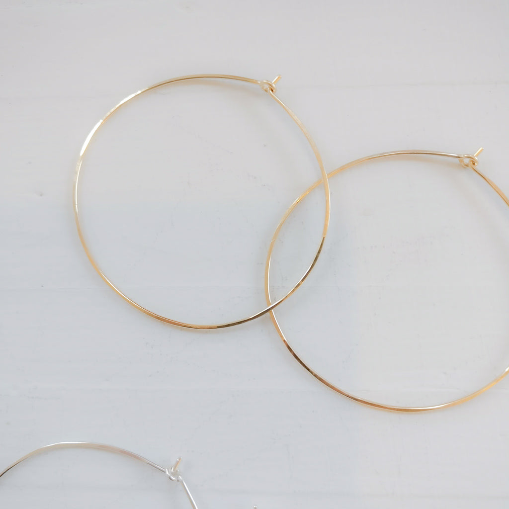 Tumbleweed Shop and Studio - Large Hoop Earrings