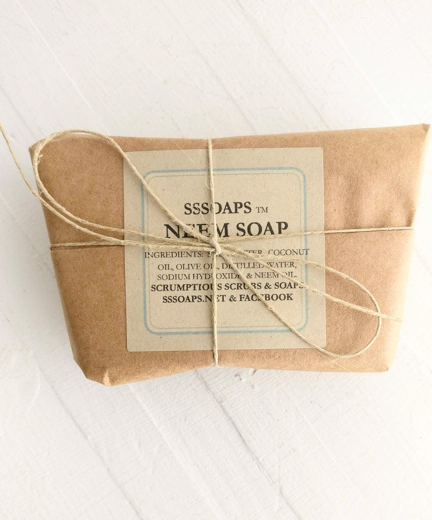 Neem Soap by Scrumptious Scrubs & Soaps