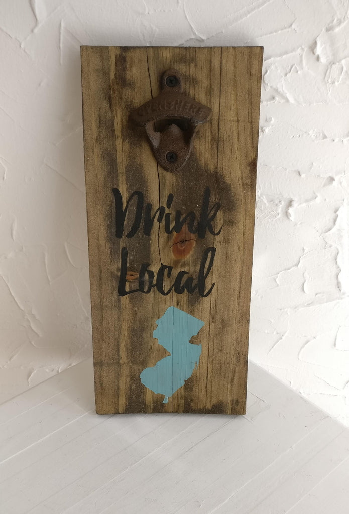 Bottle Opener Sign by Carson's ReCreations