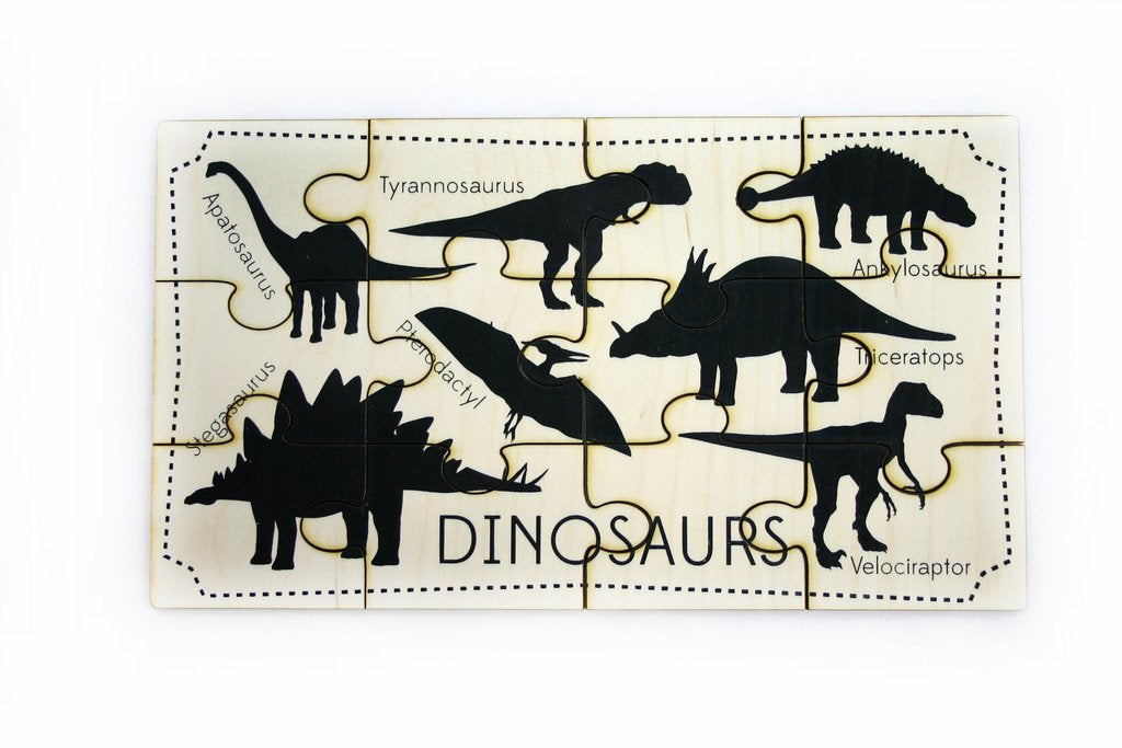 Dinosaurs Wooden Jigsaw Puzzle